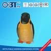 OBT- 1804C Cute animal loudspeaker / penguin land speakers /outdoor lawn sound system/ park audio equipment