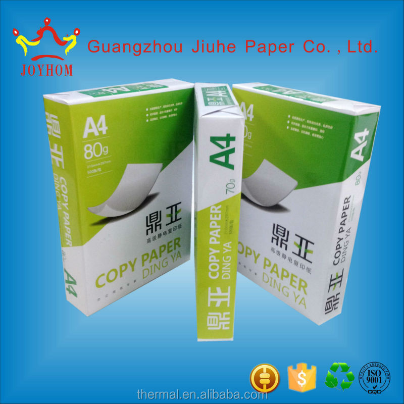 Guangzhou product 80gsm a4 copy paper factory in china