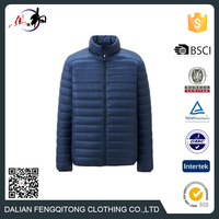 Top Quality Warmer Ultra Light Winter Jacket Foldable Down Jacket Man