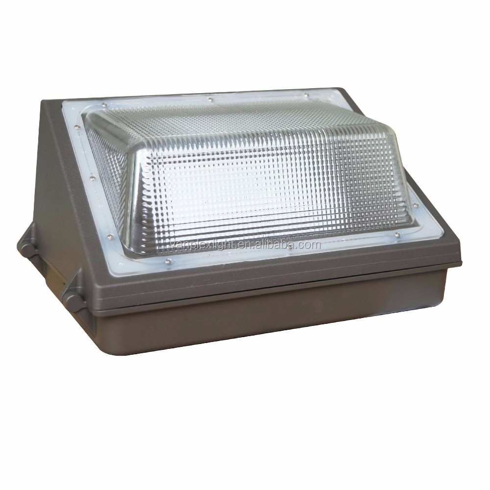 Daylight outdoor lamp led light wall pack photocell microwave motion wall light