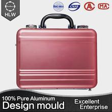 HLW High quality new design aluminium acrylic cosmetic case