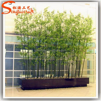 artificial wholesale bamboo price cut off bamboo tree green bamboo plants