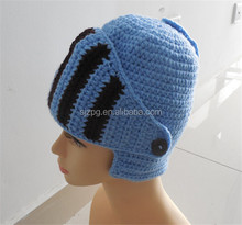 factory supply hand crochet beanie helmet for baby children adult
