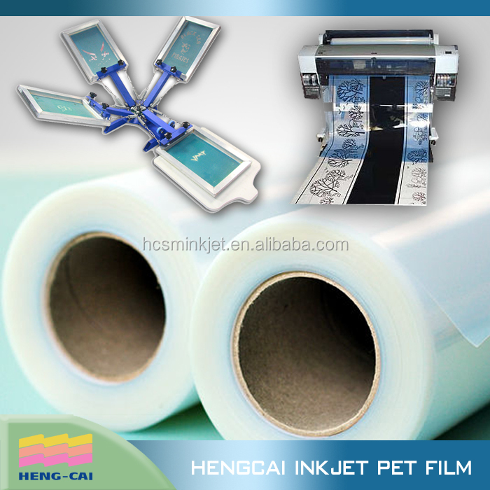 Instant Dry,Ultra Clear Waterproof Inkjet Clear CTF Film for Overlay/Color Separation