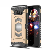 Credit Card Case Galaxy Note 8 Smartphone Accessories Unique Magnetic Case Cover For Samsung Note 8 Mobile Phone