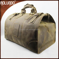 Best Selling Genuine Duffel Bag Genuine Leather Travel Bag