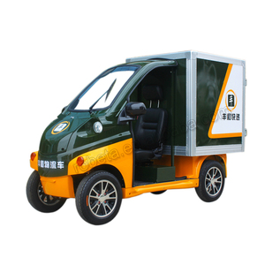 Small 2 seaters electric pickup cargo truck/ logistic vehicle car