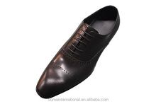 Hottest wholesale online retail men formal dress shoes geunine leather new style italian man cowhide black shoes