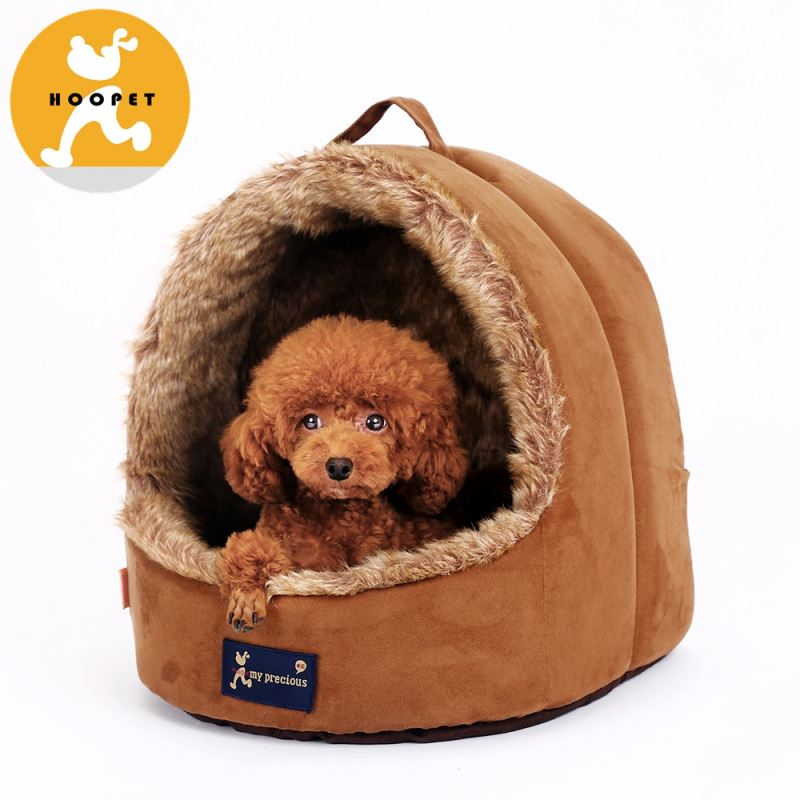 Outdoor latest new product faux fur pet bed from china