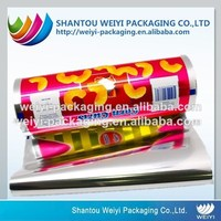 Food grade safety laminated aluminium pe film for food packaging