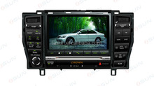 special Toyota Crown car dvd with GPS buletooth ipod RDS V-CDC steer wheel