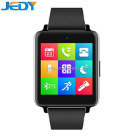 2015 new IPS touch screen IP54 waterproof wrist watch mobile phone with sim card SD card slot watch