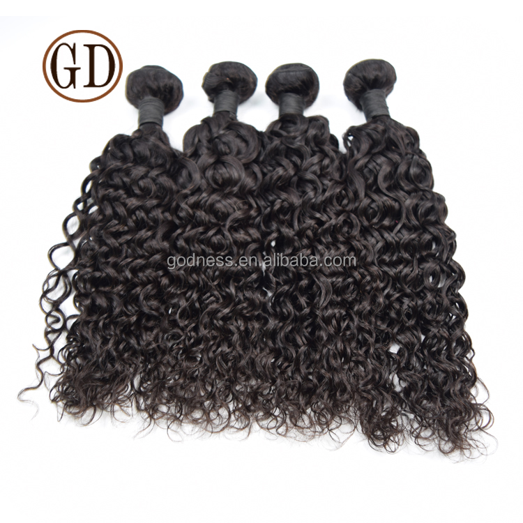 New Product Unprocessed No Shedding No tangle Wholesale Price Grade 8A virgin indian curly hair