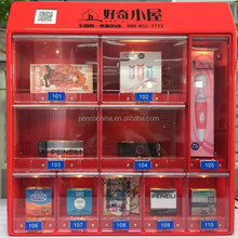 10 doors mini and wall mounted hotel vending machine