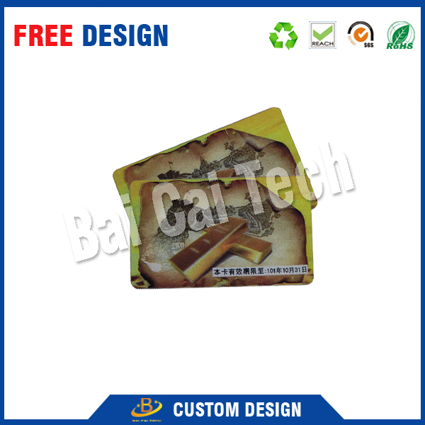 Attractive and durable wholesale custom lenticular card printing