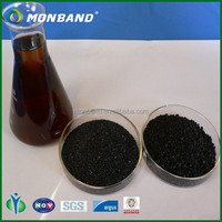 Organic fertilizer black potassium humate powder state