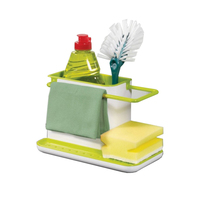 hot sell kitchen sink corner organizer with drainer Plastic Storage Dry Rack Basket Dish Soap Towel Shelving Rag Stand