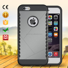 factory price tpu+pc mobile phone case for iphone 6 6s/china cell phone cover maker 4.7inch for i6