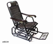 indoor rattan lounge chair, chaise longue,recliner