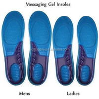 Sports Massaging Silicone Gel Insoles Arch Support Orthopedic Plantar Fasciitis Running Insole For shoes HA00107