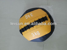 Medicine ball in yellow color