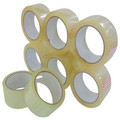 48mm x 100m transparent bopp adhesive box packing tape