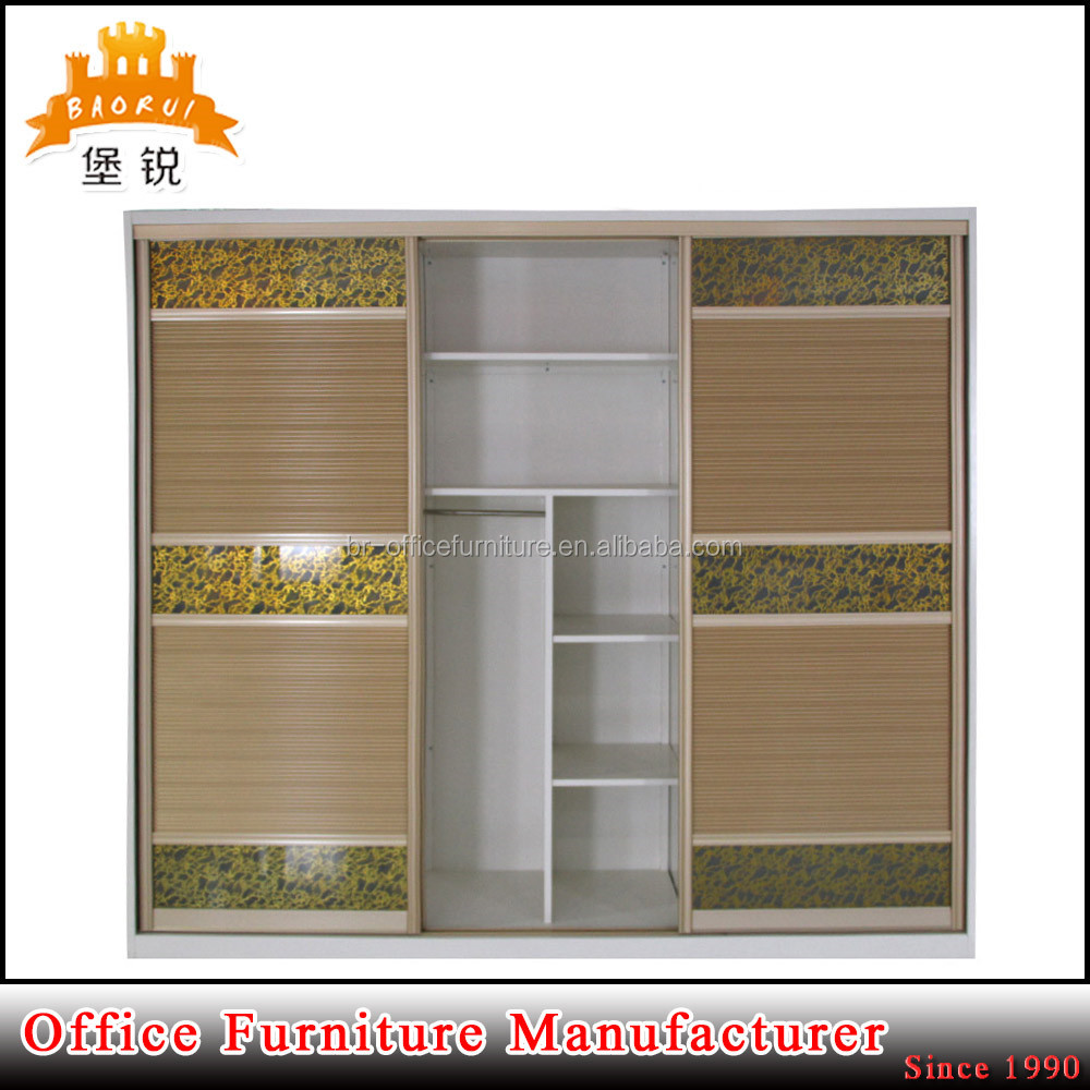 flat pack furniture wholesale sliding door godrej steel almirah bedroom furniture metal home clothes wardrobe