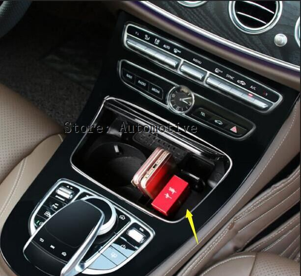 Great For Mercedes Benz C Class W205 2014 2015 2016 2017 Replacement Parts !!  Plastic Interior Car Water Cup Holder Storage Box In Armrests From  Automobiles ...