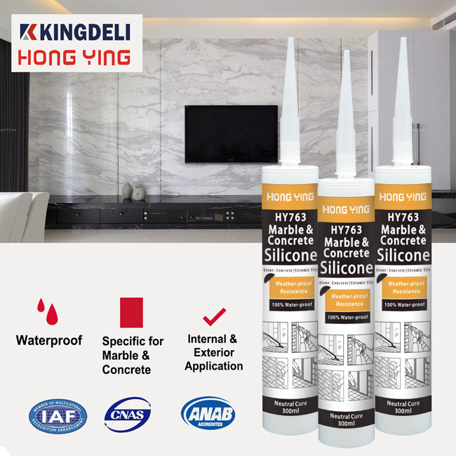 Waterproof weather resistance neutral stone sealant