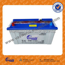battery recycling N100 12v100ah dry charged car battery