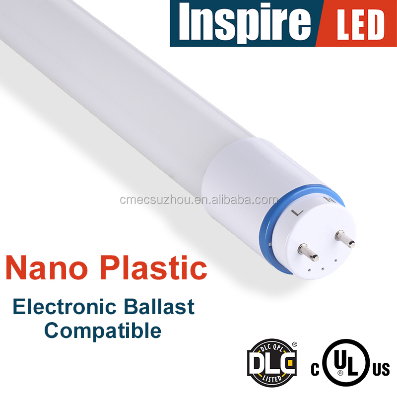 Plug and play 18W nano led T8 tubes electronic ballast compatible
