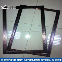 201 304 bronze finish stainless steel picture frame
