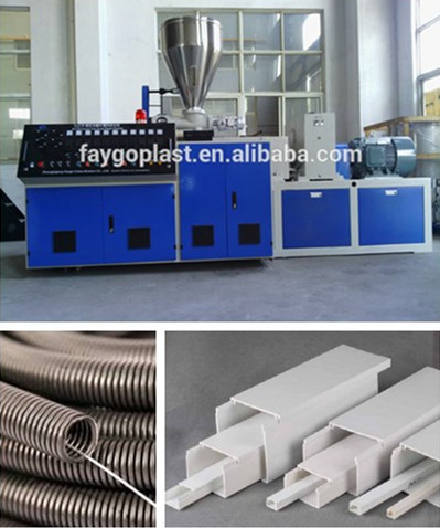 Faygo Spiral Steel Wire PVC PP PE hose Pipe Duct machine manufacturer on sale