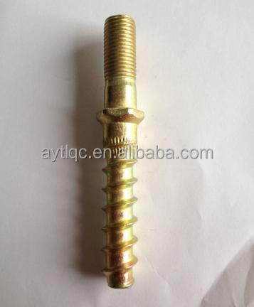 Rail Double Head Screw Spike for Rail Nabla Fastening System equipment