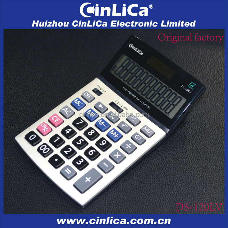 12 digit basic calculator DS-120LV china yiwu stationery market