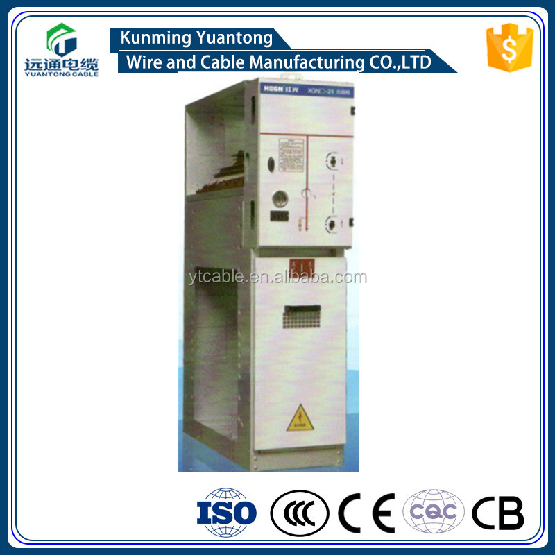 electric switching equipment XGN-24kV AC metal-enclosed switchgear cabinet