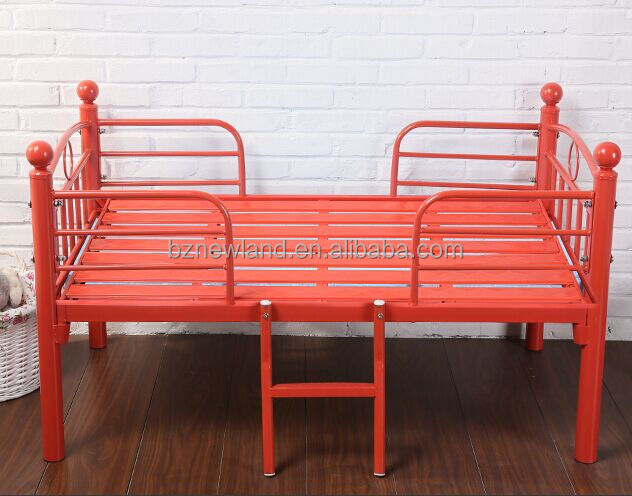 metal children bed kids single bed kindergarden bed