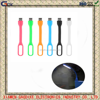 New Fleible Silicone Mini USB led Light Lamp for promotion