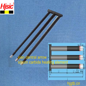 W type silicon carbide rod