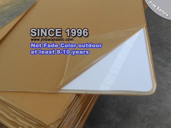 JINBAO price clear color transparent pmma acrylic plexiglass plastic for led light