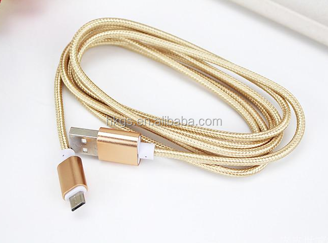 Fast Charging Nylon Braided 8Pin 2 In1 Magnetic Charge Cable Usb Cable 2 In 1