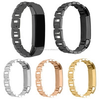 14MM Replace Stainless Steel Wrist Metal Strap Bracelet Watch Band For Fitbit Alta Tracker