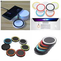 2016 New Universal Q5 Qi standard Wireless Charger Charging Pad with Qi Receiver for iPhone Samsung HTC LG Android Phone