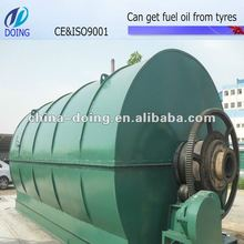 DOING brand hot sale waste tyre oil plant project report