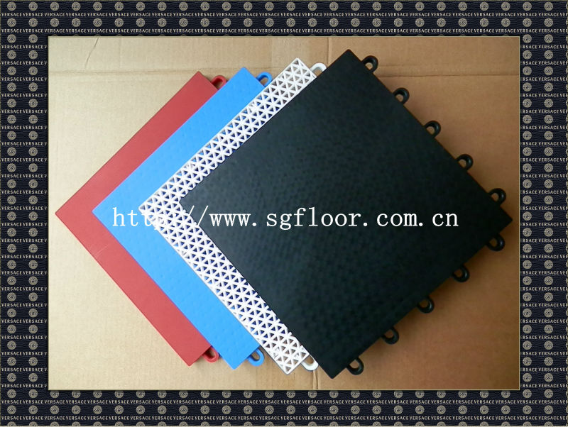 best price indoor games area PP sport floor covering