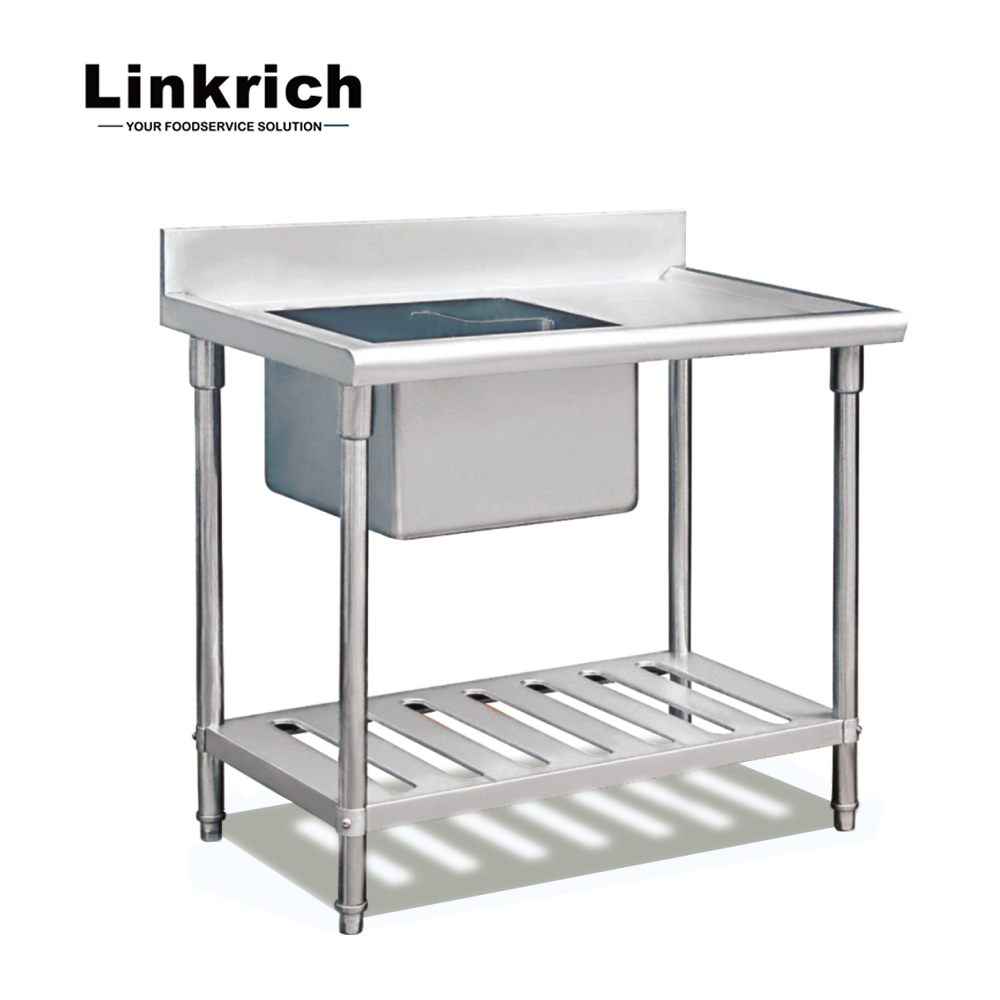 High Quality Industrial Used Kitchen Commercial Stainless Steel Sink