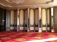 Best price and high quality soundproof movable wall partition for interior decoration