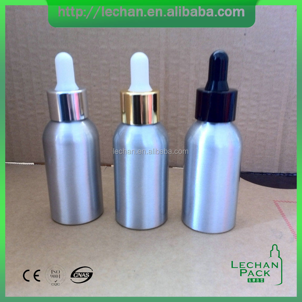 50ml Empty Aluminum Lotion Emulsion Spray Refillable Bottles