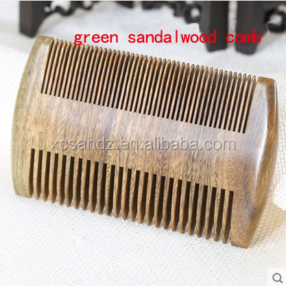 Hair Brushes Set Wholesale Double Tooth Sandalwood Comb
