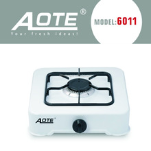 Aote Automatic 1 Burner Stainless Steel Euro Gas Stove